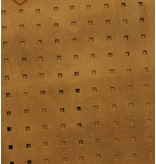 Burkely Perforated Shopper Zandkleur