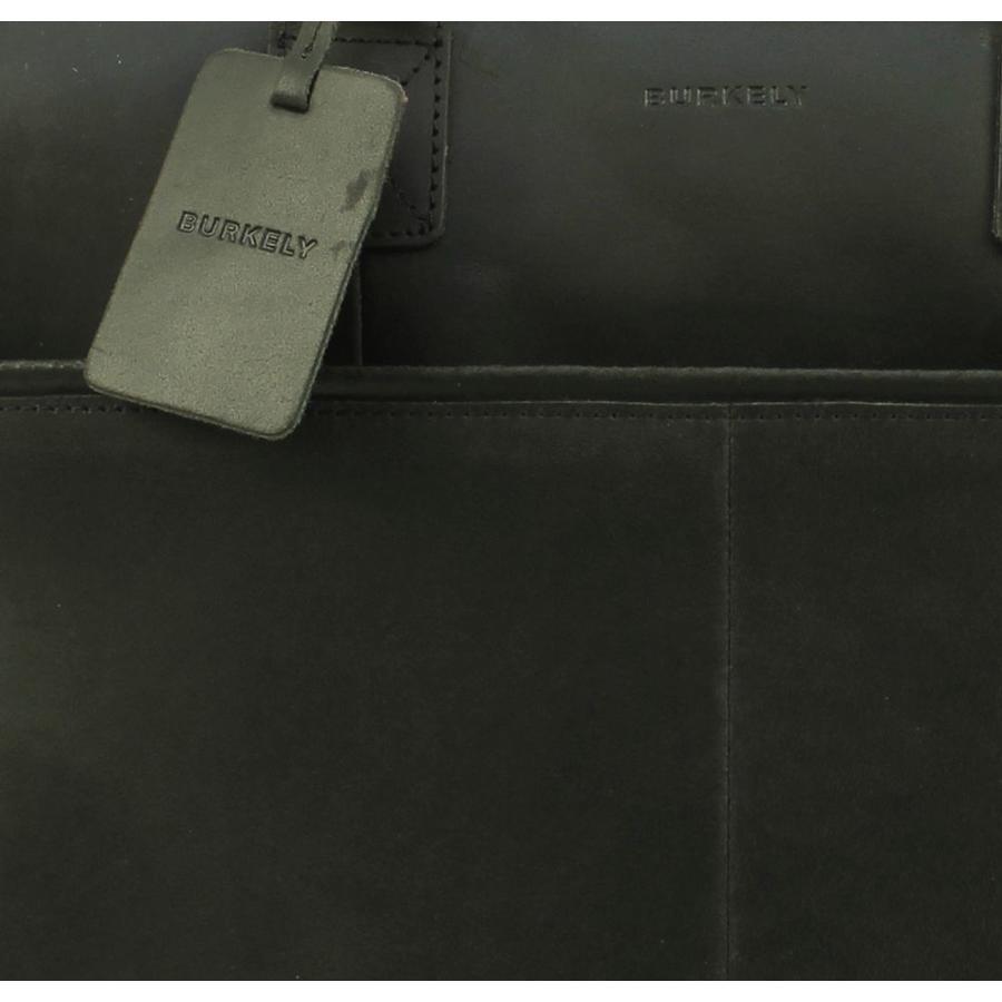 Burkely Vintage Laptoptas 17 inch Max Zwart