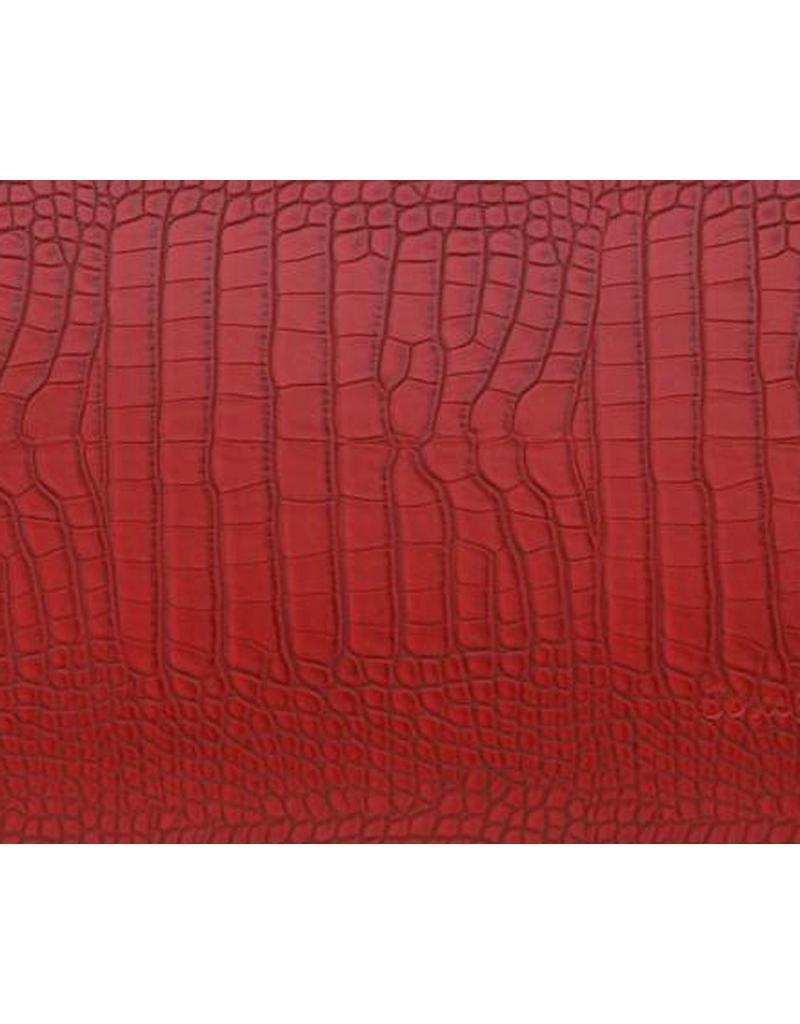 Bombata Croco 17 inch Hardcase Lapoptos Red
