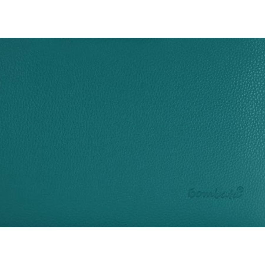 Bombata Medio Hardcase Laptoptas 13 inch Teal Blue
