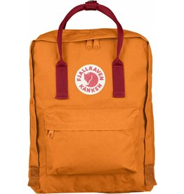 Fjallraven Kånken Rugtas Orange/Red