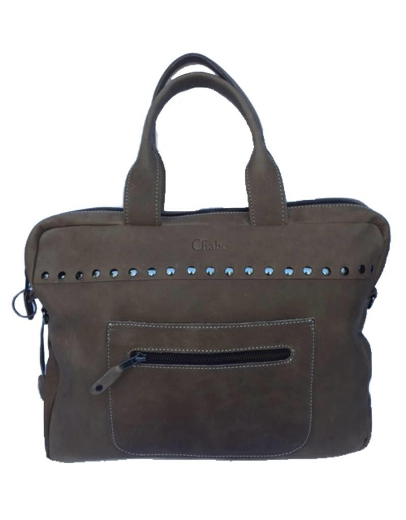 Chabo Bags Laptopbag Brooklyn Elephant Grey