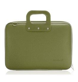 Bombata Maxi 17 inch Laptoptas Khaki Green