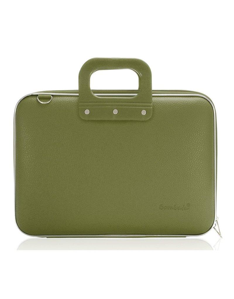 Bombata Bomba Maxibomba Hardcase Laptoptas Khaki Green