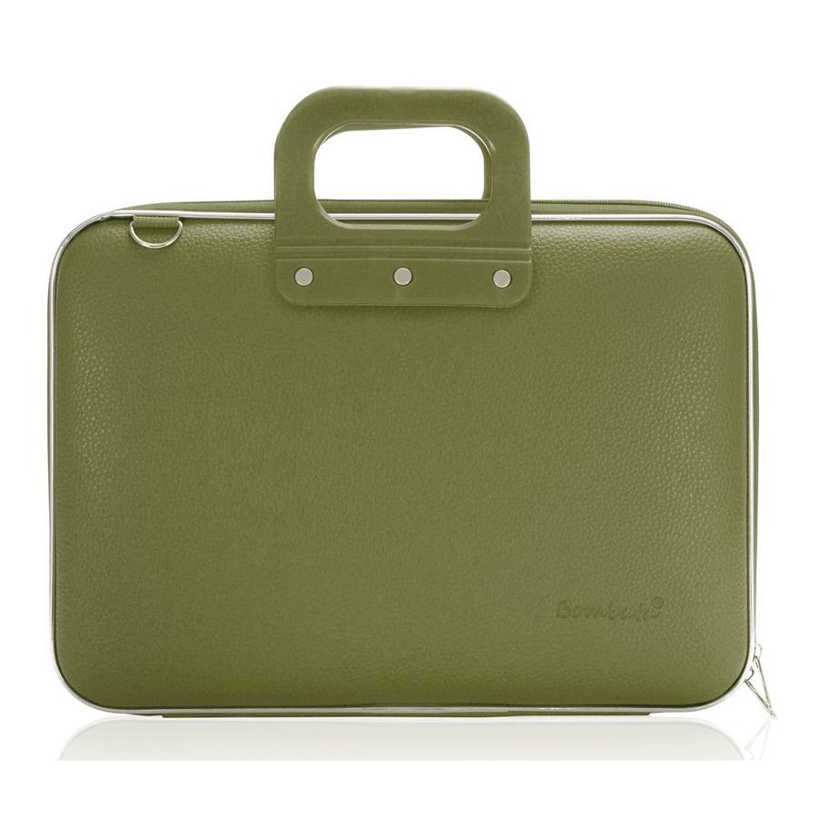 Bombata Maxi Hardcase Laptoptas Khaki Green
