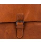 Burkely A4 schoudertas, Businessbag Cognac