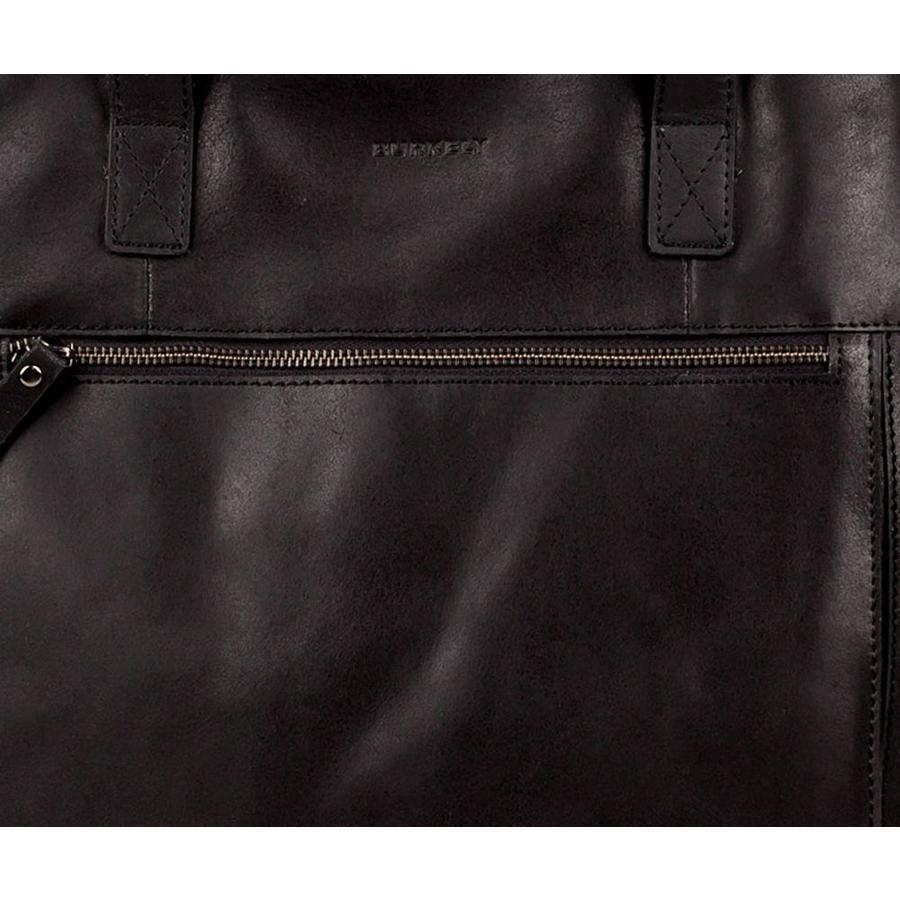 Burkely  Shopper Jade Laptoptas Black