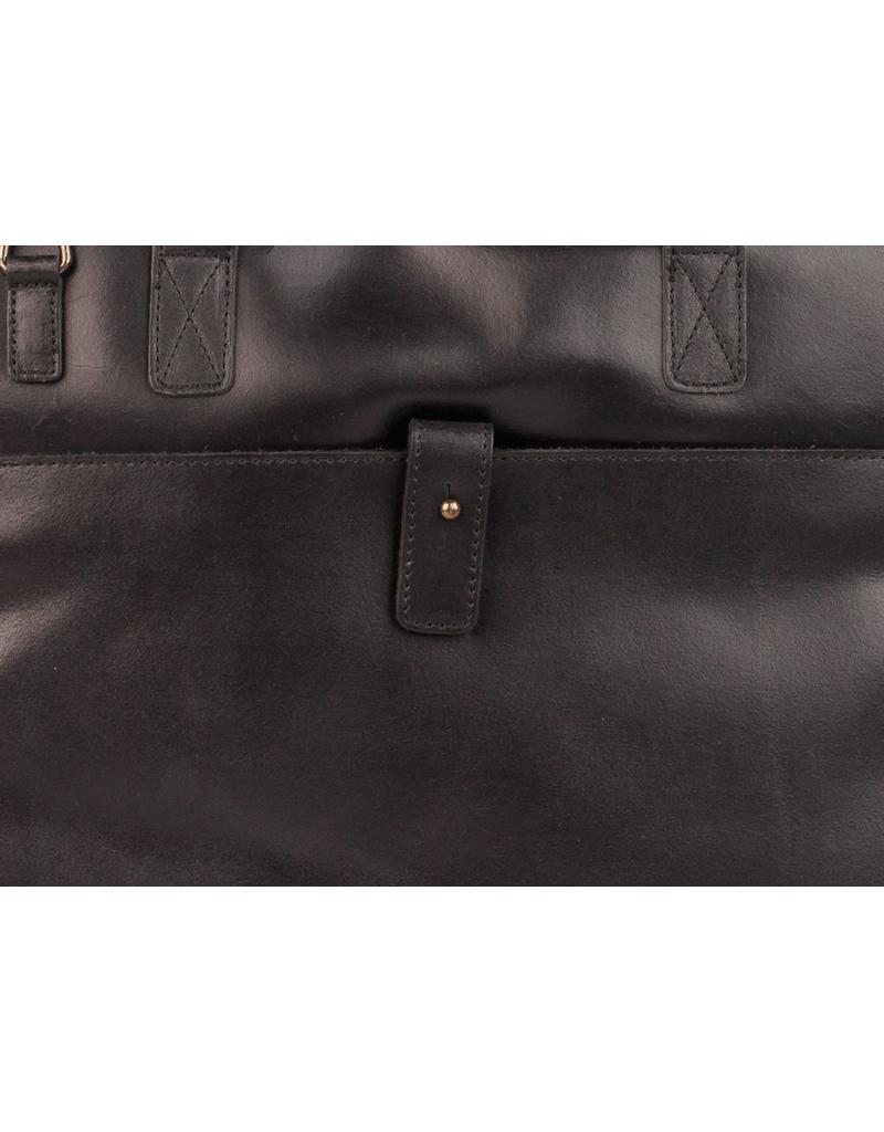 Burkely Vintage 14 inch Laptoptas Black