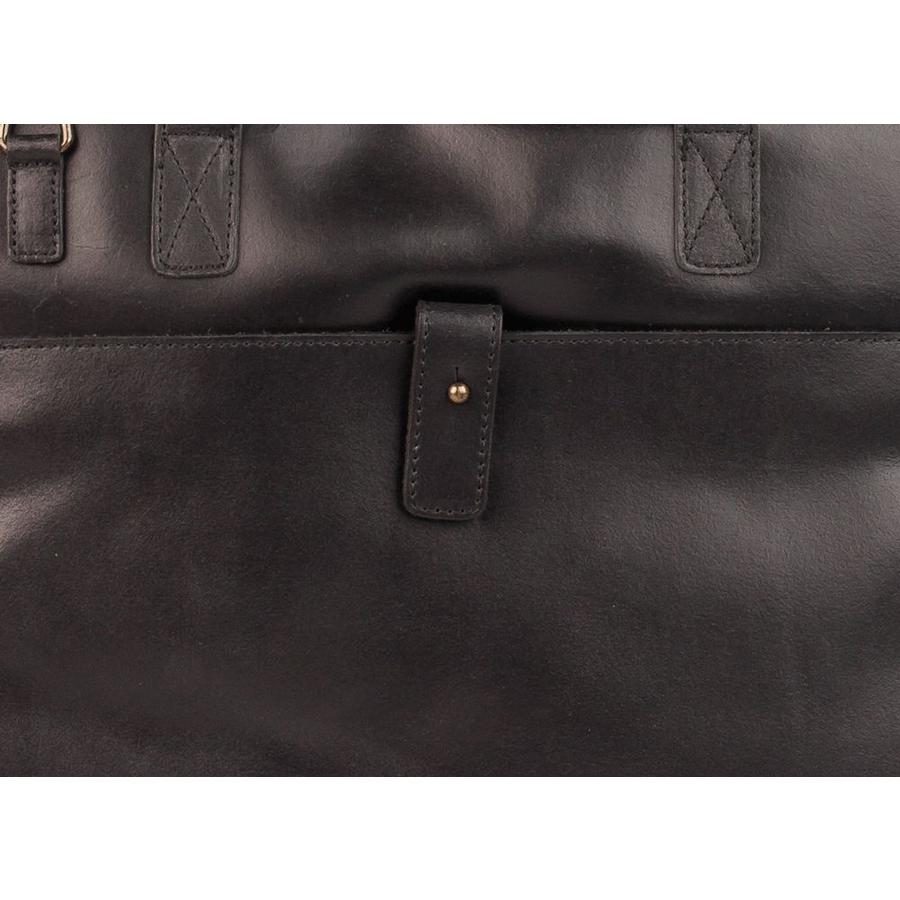 Burkely Vintage 13 inch Laptoptas Black