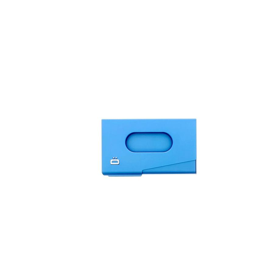 Ogon Business Cardholder One Touch Blue