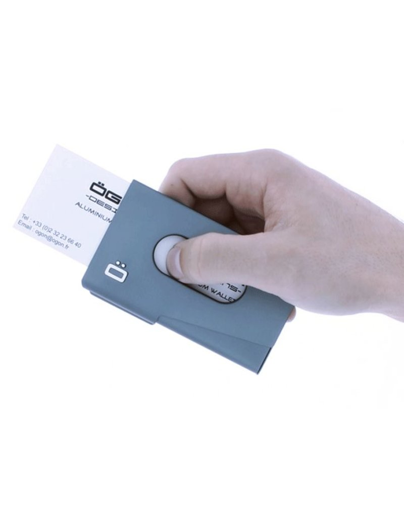 Ogon Designs Business Cardholder One Touch Platinum