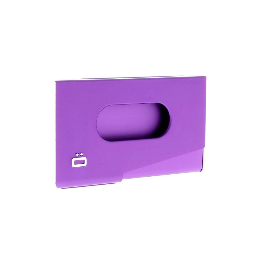 Ogon Business Cardholder One Touch Purple