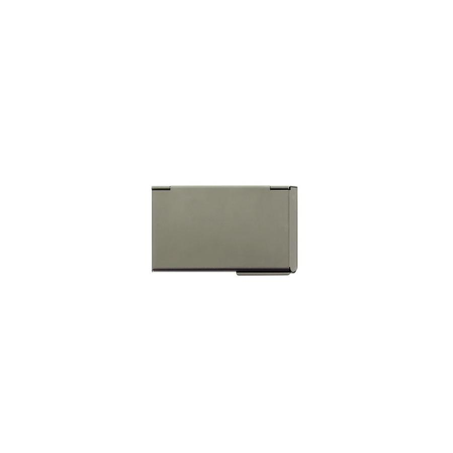 Ogon Business Cardholder One Touch Dark Grey