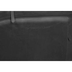 Chesterfield Leren Laptoptas Businessbag George Black