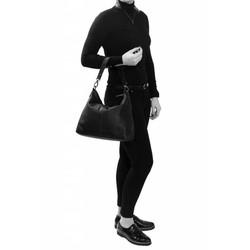Chesterfield Schoudertas Victoria Wax Pull Up Black