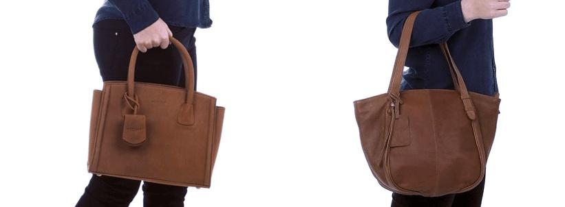 Leren handtas die moét je hebben!