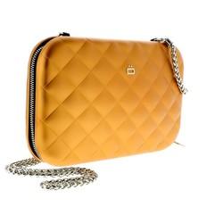 Ogon Clutch Quilted Lady Bag Orange
