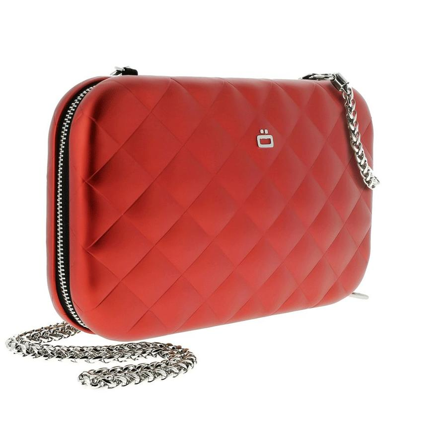 Ogon Clutch Quilted Lady Bag Red