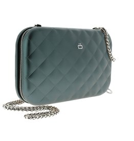 Ogon Designs Clutch Quilted Lady Bag Platinum