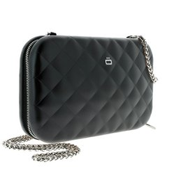 Ogon Designs Clutch Quilted Lady Bag Black
