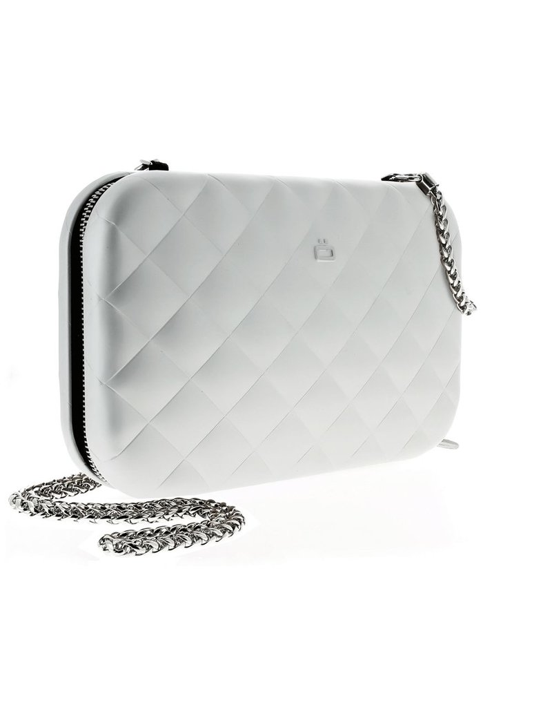 Ogon Designs Clutch Quilted Lady Bag Silver