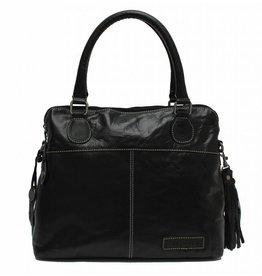 Bag2Bag Maine Handtas en/of Schoudertas Black