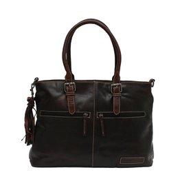 Bag2Bag Kansas Brandy Schoudertas en Handtas