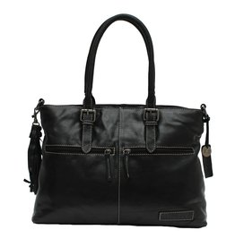 Bag2Bag Kansas Black Schoudertas en Handtas