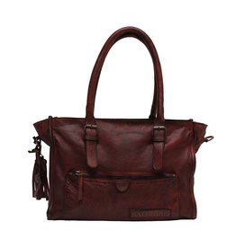 Bag2Bag Estor Cognac Handtas en/of Schoudertas