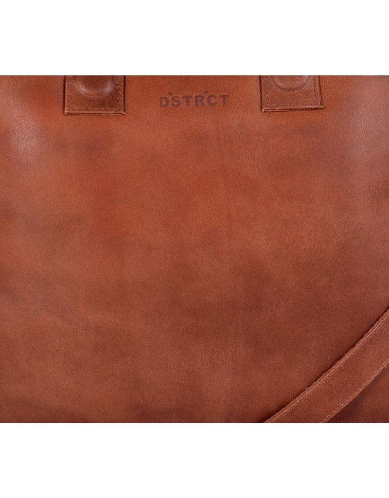DSTRCT Fletcher Street Laptoptas 13,3 inch Cognac