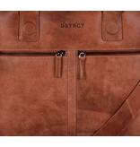 DSTRCT Fletcher Street Trendy Dames Laptoptas 11,6 inch Cognac