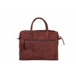 DSTRCT ALFA Wall Street Laptoptas 15,4 inch Brown