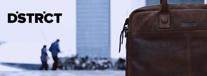 Nieuw merk online: DSTRCT tassen