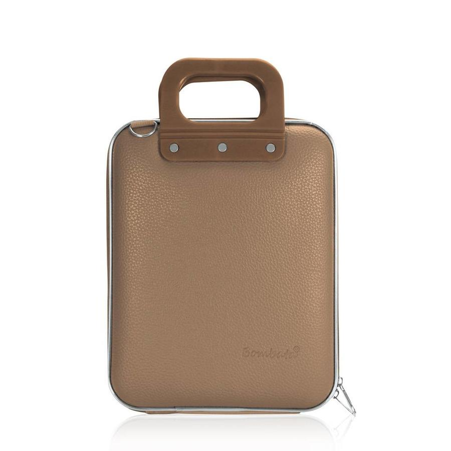 Bombata Micro Tablet Briefcase Taupe (grijs/bruin)