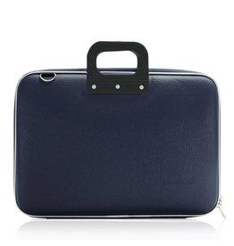 Bombata Classic Business 15 inch Laptoptas Dark Blue