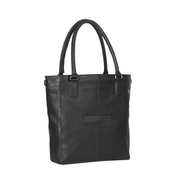 Chesterfield Oldham Leren Shopper Black
