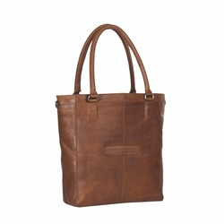 Chesterfield Oldham Leren Shopper Cognac