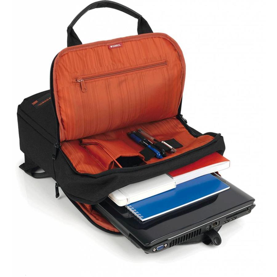 Gabol Laptop Rugtas 15,6 inch Spectrum Zwart