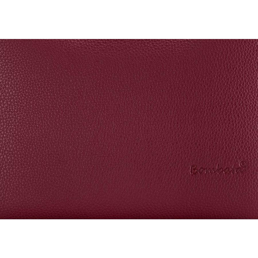 Bombata Medio Hardcase 13 inch laptoptas Burgundy Red