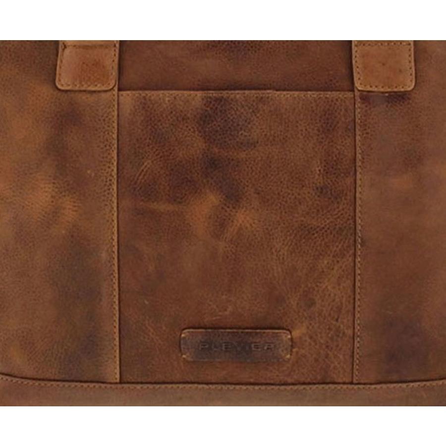 Plevier Laptoptas Damestas 14 tot 15 inch Cognac