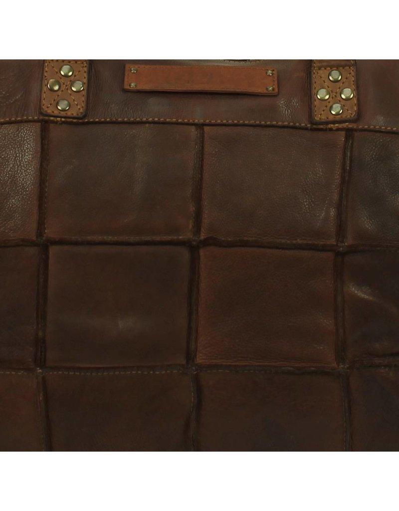 Bag2Bag Georgia 15 inch Laptoptas Dark Cognac
