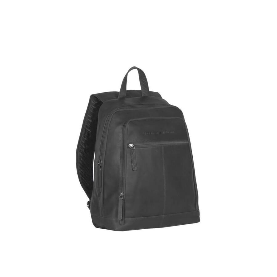 "Chesterfield Leren 15"" Laptop Rugtas Rich Black"