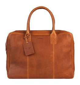 Burkely Laptoptas Worker Cognac