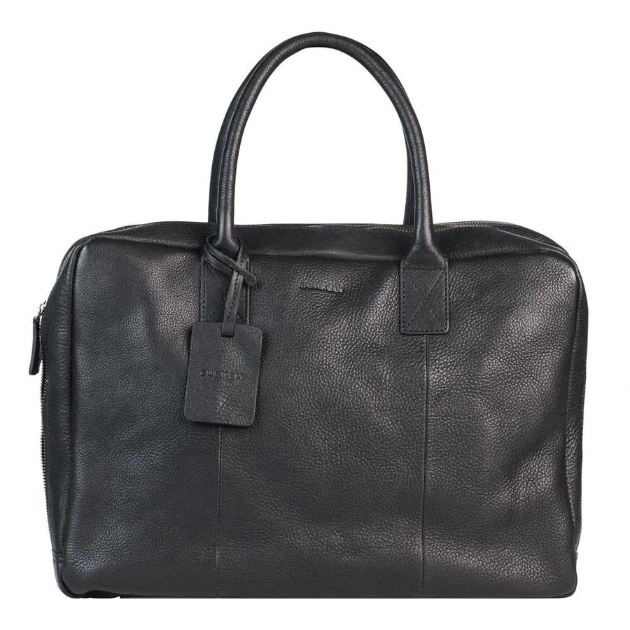 BURKLEY Antique Avery Laptoptas Worker Black