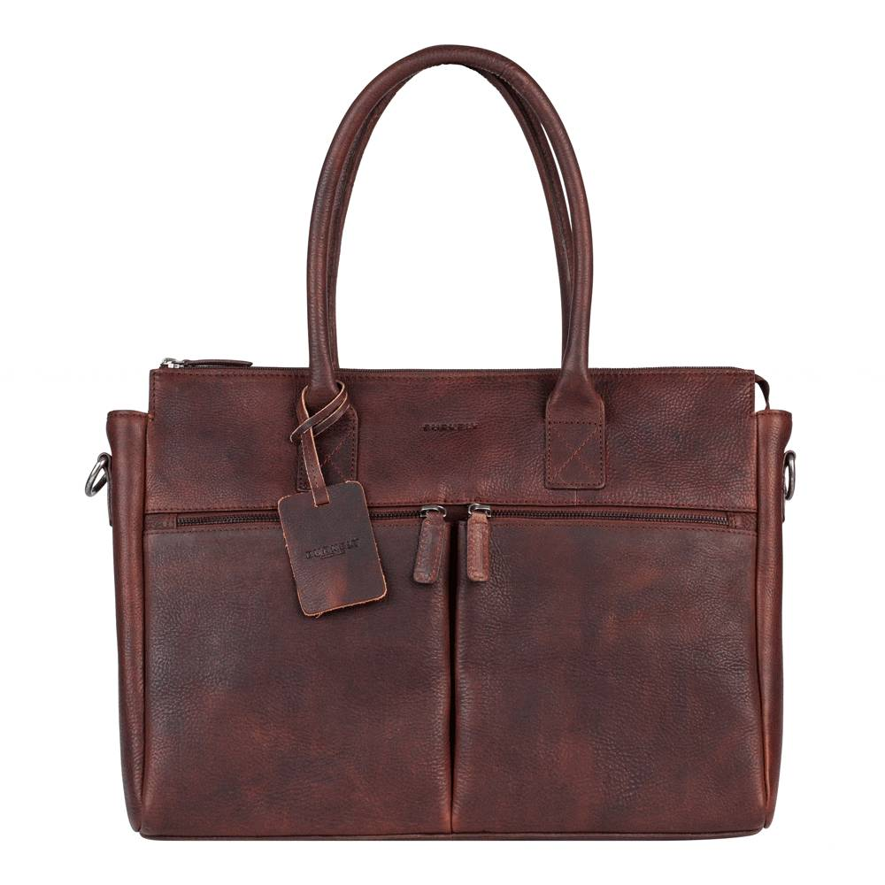 Burkely Antique Avery Laptopbag 15.6 Brown 698856
