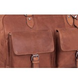 Chesterfield Leren Weekendtas William 2 Cognac