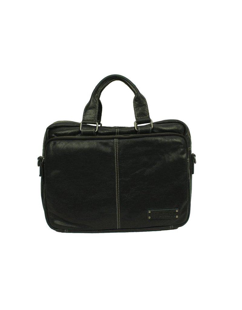 Bag2Bag Washington 13,3 inch Laptoptas Black