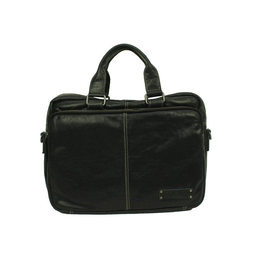 Bag2Bag 13,3 inch Laptoptas Washington Black