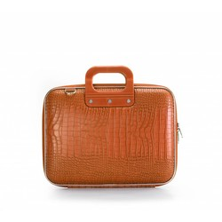 Bombata Croco 13 inch Hardcase Laptoptas Orange