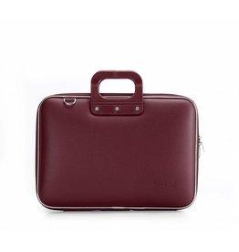 Bombata Classic 15 inch Laptoptas Burgundy Red